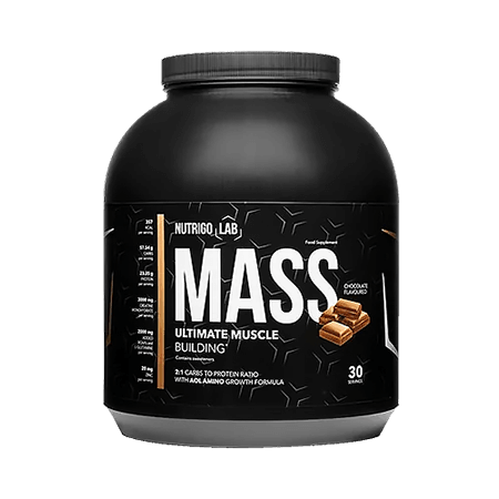 Nutrigo Lab Mass is a safe supplement that will efficiently increase muscle mass!
