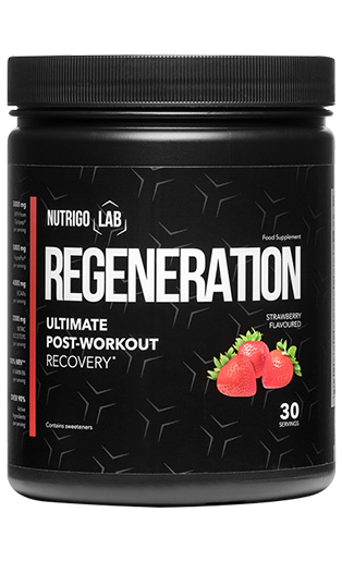 Nutrigo Lab Regeneration is an unconventional dietary supplement that will take care of the proper reconstruction of muscles after a hard training.