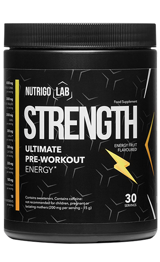 Nutrigo Lab Strength is a safe preparation that will greatly improve efficiency and prepare you for the permanent building of muscle mass!