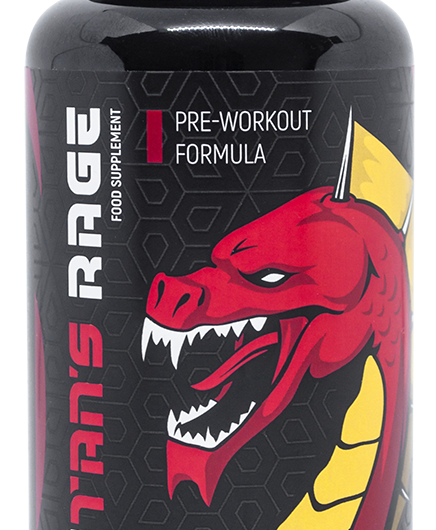 Titan's Rage is an effective pre-workout that will support intensive training and prepare the body for training.