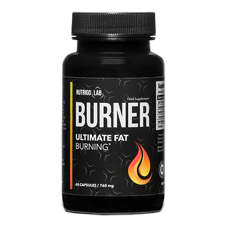 Nutrigo Lab Burner is a powerful fat burner that allows you to achieve the desired figure and prepare the muscles for carving!
