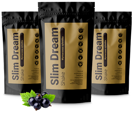 Slim Dream Shake is a natural and effective dietary supplement that will effectively support the weight loss mechanism!