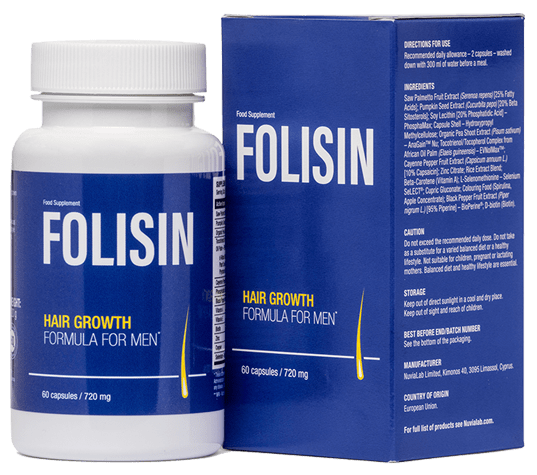 Folisin je inovativní přípravek, který vám účinně pomůže soutěžit s nadměrným vypadáváním vlasů!