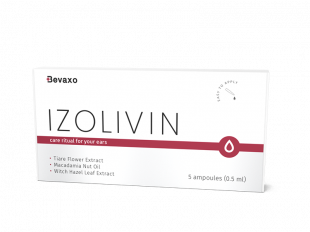 Izolivin je produkt, který účinně a pohodlně eliminuje usazeniny vosku z ucha!