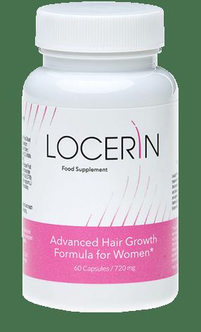 Locerin 是一種創新的膳食補充劑,可以照顧您的頭髮質量並阻止過度脫髮!