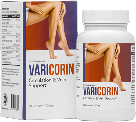 Varicorin is a proven and active preparation that will get rid of varicose veins and make your legs attractive and smooth!